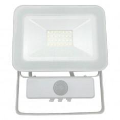 Reflektor LED 20W/4000K/WH+PIR