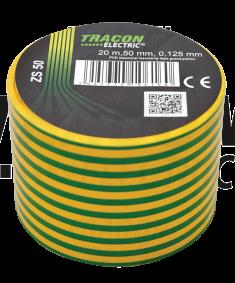 ZS50 50*20 izol.páska zel/žl