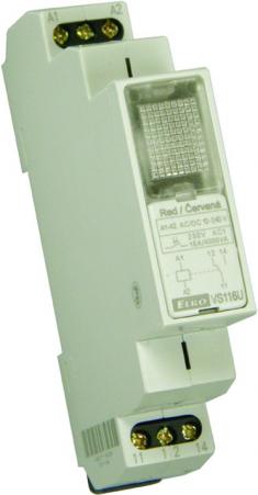 VS116K pom.relé 16A 230/24V