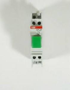 E 225-11D tlačítko zelené