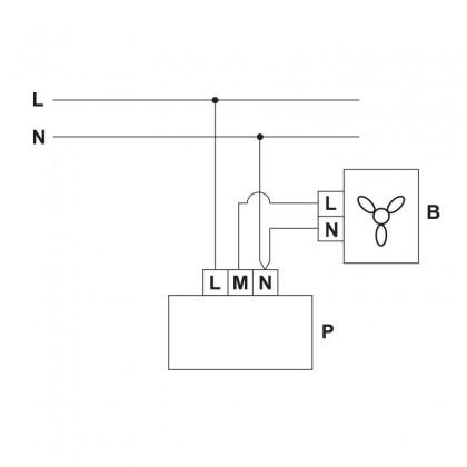 RS-1-400 regulátor otáčok 400W